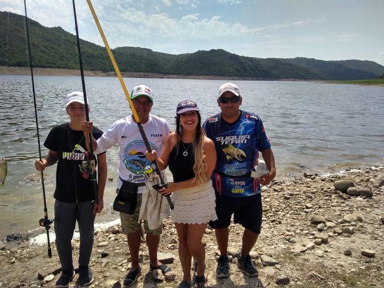 AUDIO: Las Rabonas, un lugar para pescadores en el dique La Viña