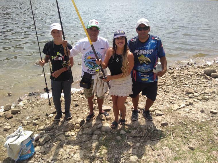 FOTO: Las Rabonas, un lugar para pescadores en el dique La Viña