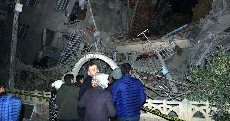 FOTO: Trágico sismo en Turquía (Foto: CNN)