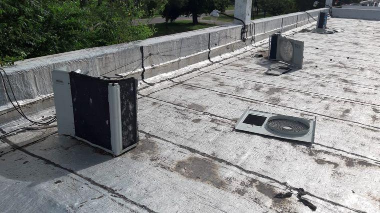 AUDIO: Roban aires acondicionados en escuelas de Bell Ville (por Federico Haldemann)