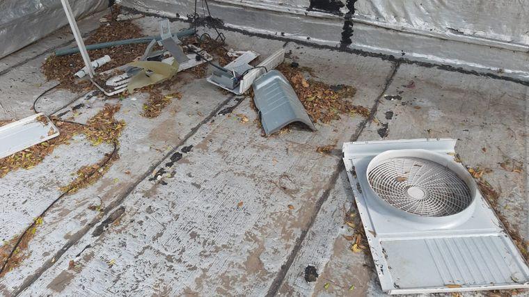 FOTO: Destruyen y roban partes de aires acondicionados en escuelas de Bell Ville.