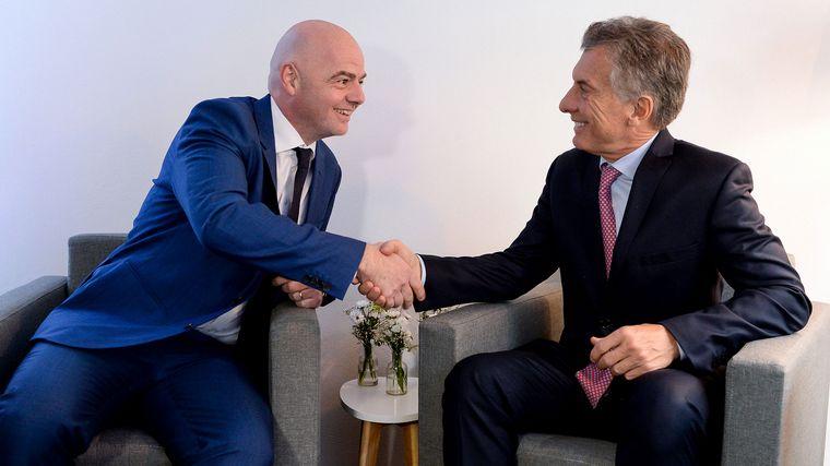 FOTO: Superliga tuitió sobre la designación de Macri en la Fundación FIFA.