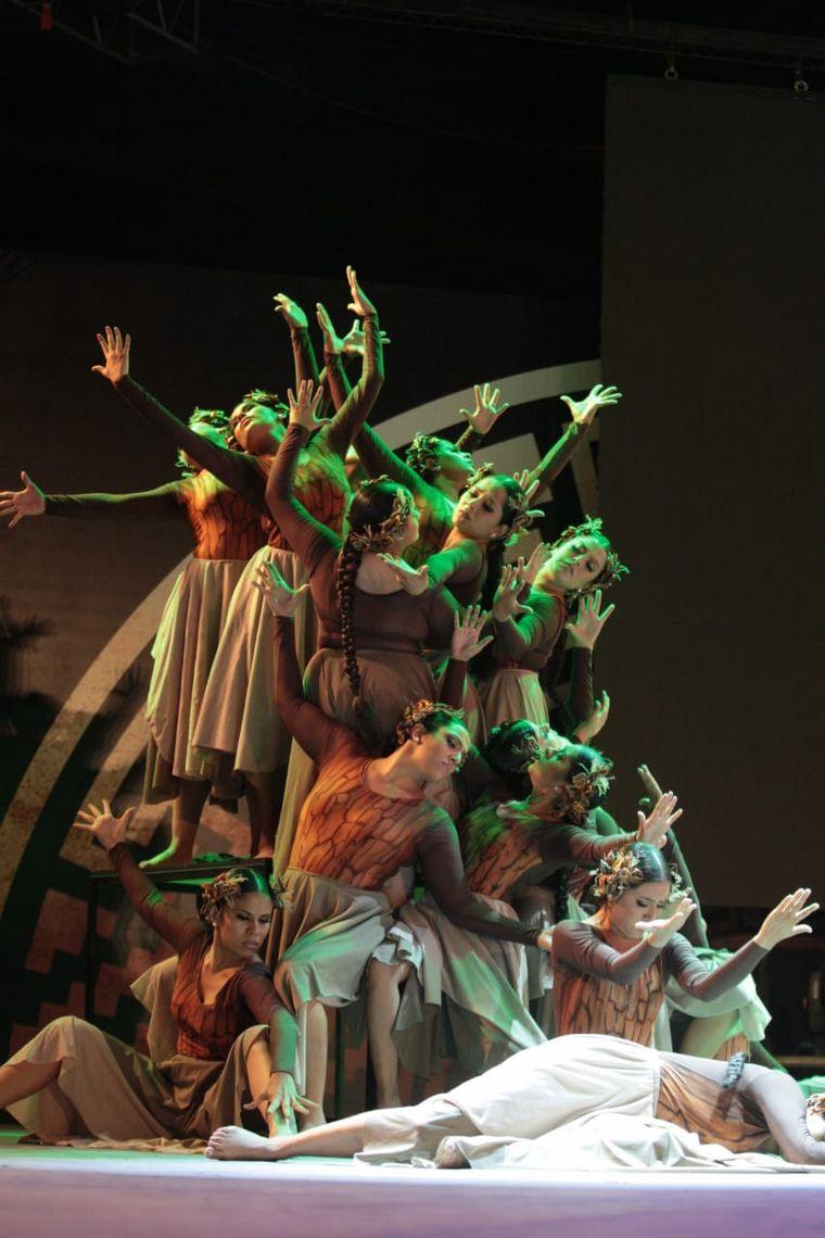 FOTO: Franco Luciani, artista del Festival de Cosquín
