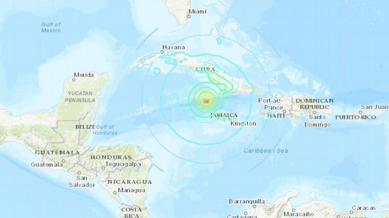 FOTO: El terremoto sacudió a varias islas del Caribe.