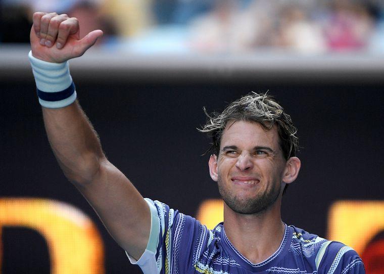 FOTO: Thiem venció a Nadal y se metió en semifinales.