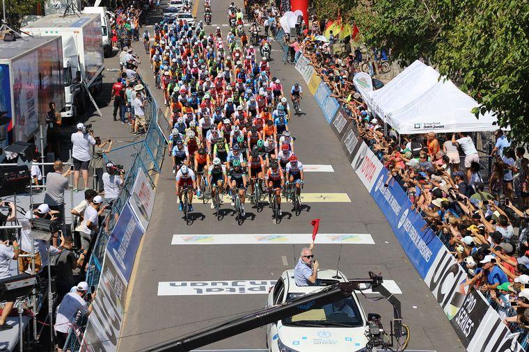 AUDIO: La Vuelta a San Juan, la cumbre del ciclismo internacional