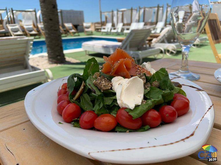 FOTO: Los platos que se sirven en Helena Beach.