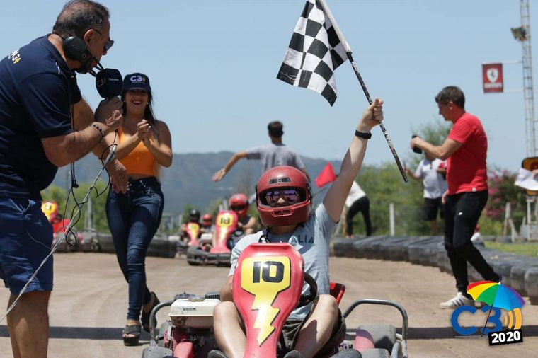 AUDIO: Los actores competirán de una carrera de karting (Por Eugeinia Iérmoli)