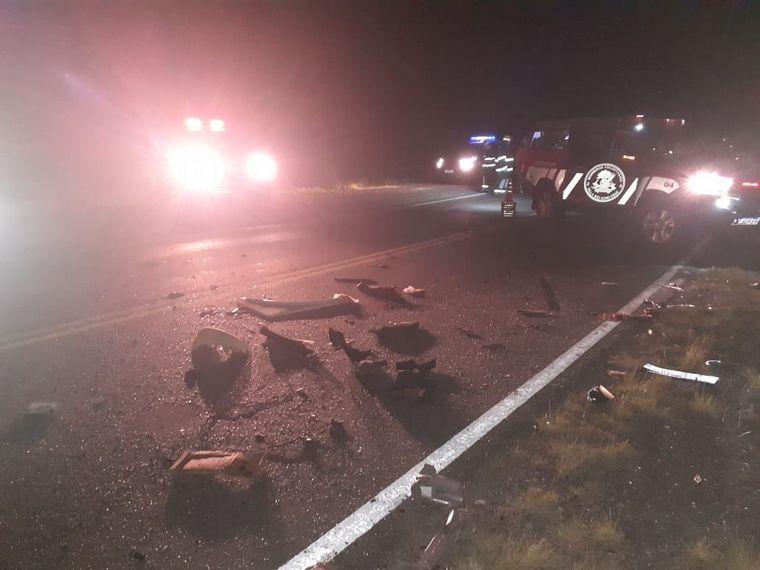 FOTO: Imágenes del fatal accidente en las Altas Cumbres (Foto: El diario de Carlos Paz)