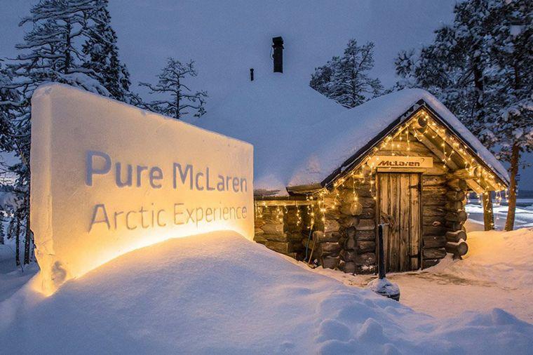 """FOTO: En un entorno de desierto helado y aurora boreal se desarrolla la """"Artic Experience"""""""