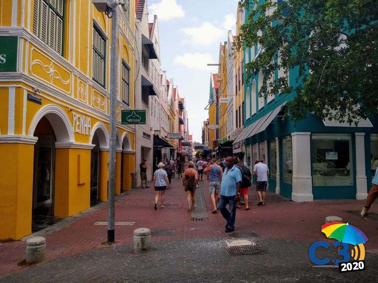 FOTO: Matías Arrierta en Curaçao.