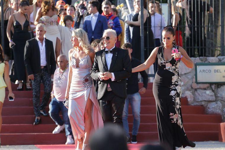 FOTO: Los protagonistas de la velada se vistieron para la ocasión