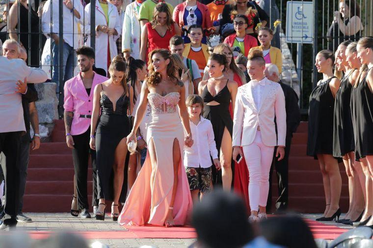 FOTO: Los corresponsales de Cadena 3 Abelardo Fonseca y Celeste Benecchi