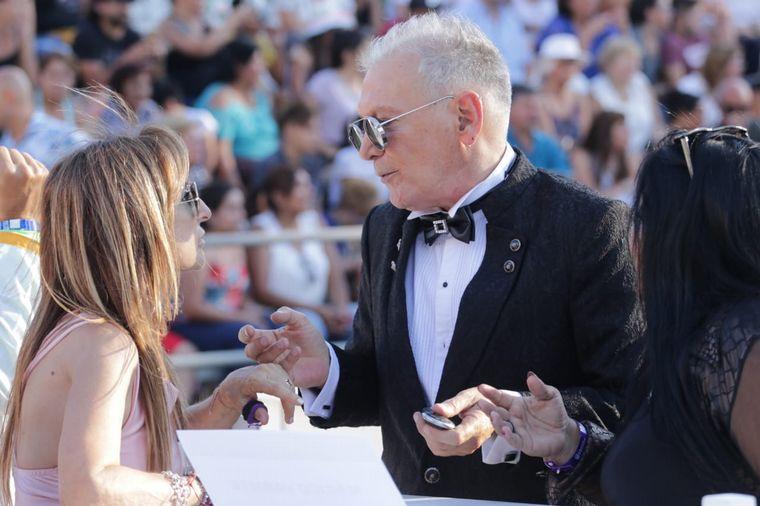FOTO: El asesor de moda Giorgio Montagna se lució, como siempre, por su outfit