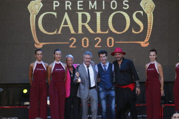FOTO: Vero Lorca, de Divas, ganó en la categoría Mejor Stand Up