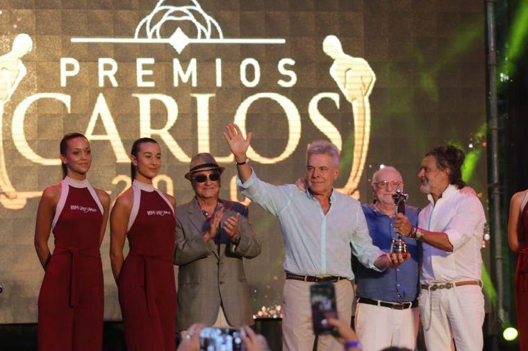 FOTO: Celeste Benecchi, Abelardo Fonseca y Agustina Vivanco, enviados de Cadena 3