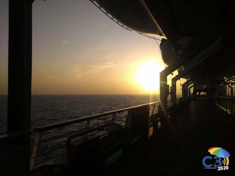 AUDIO: Cómo es un día de relax a bordo del crucero Monarch