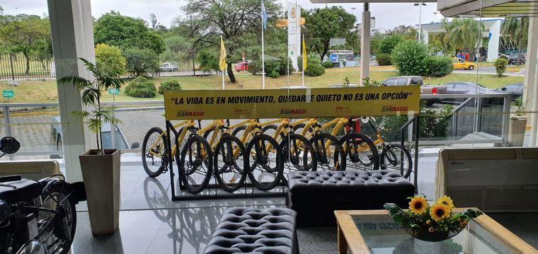 FOTO: El Hotel César Carman del ACA adquirió seis bicicletas y un triciclo adaptado.