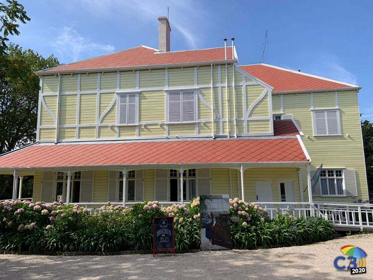 FOTO: La casa de Victoria Ocampo en Mar del Plata.