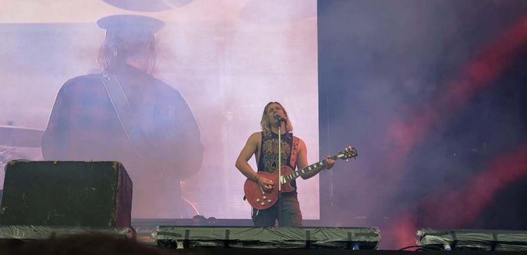 FOTO: Comenzó la 20º edición del Cosquín Rock en Córdoba.