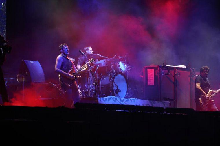 FOTO: Primera noche de Cosquín Rock.