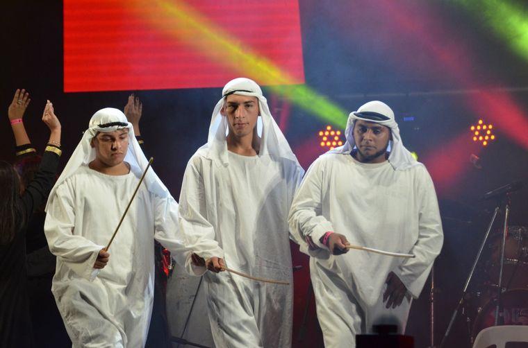 FOTO: Emiratos Árabes Unidos en Alta Gracia