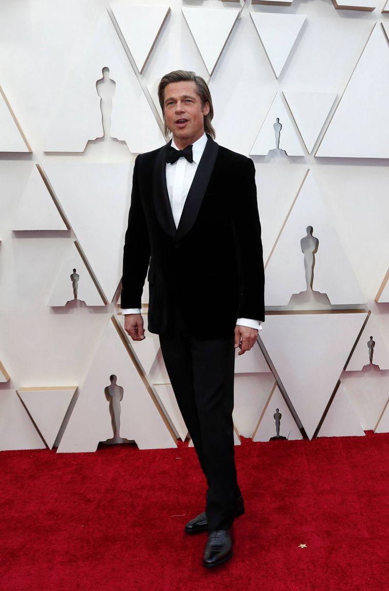 FOTO: Billy Porter  en la alfombra roja de los Oscar 2020.