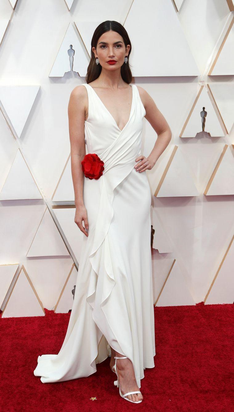 FOTO: Julia Butters en la alfombra roja de los Oscar 2020.
