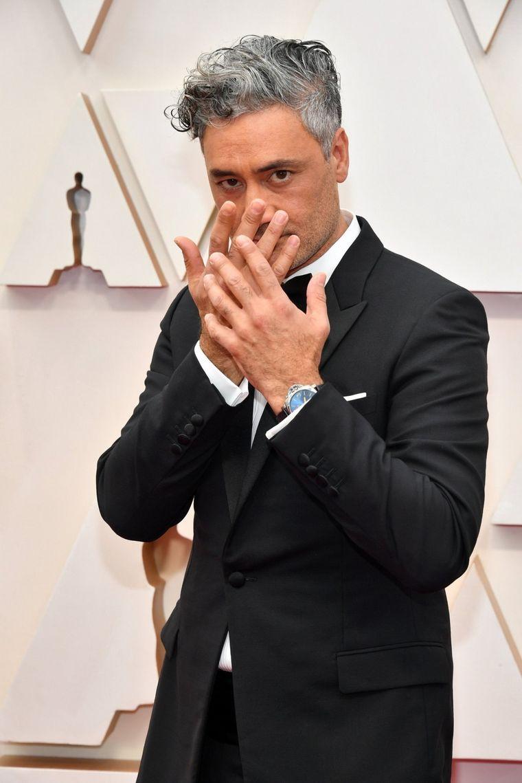 FOTO: Spike Lee  en la alfombra roja de los Oscar 2020.