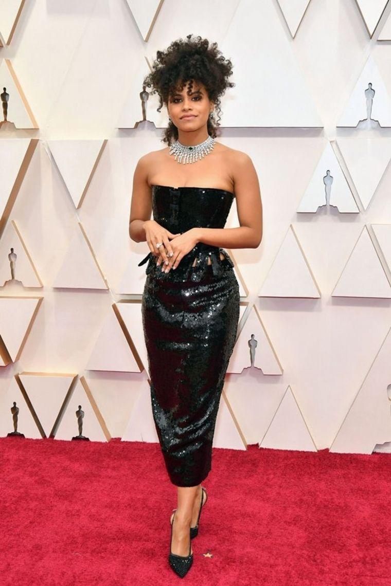 FOTO: Taika Waititi  en la alfombra roja de los Oscar 2020.
