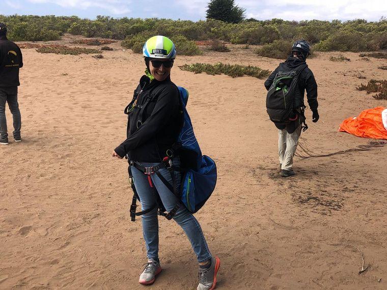 AUDIO: El parapente es una de las opciones de aventura en Maitencillo (Por Angie Gatica)