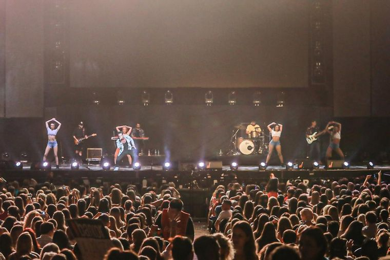 FOTO: Los Caligaris en el Festival de Peñas