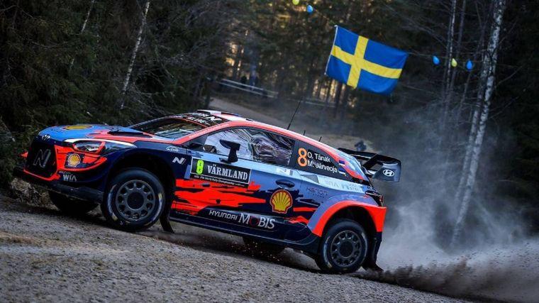 FOTO: Rovanperä ganó el shakedown sin nieve en Suecia