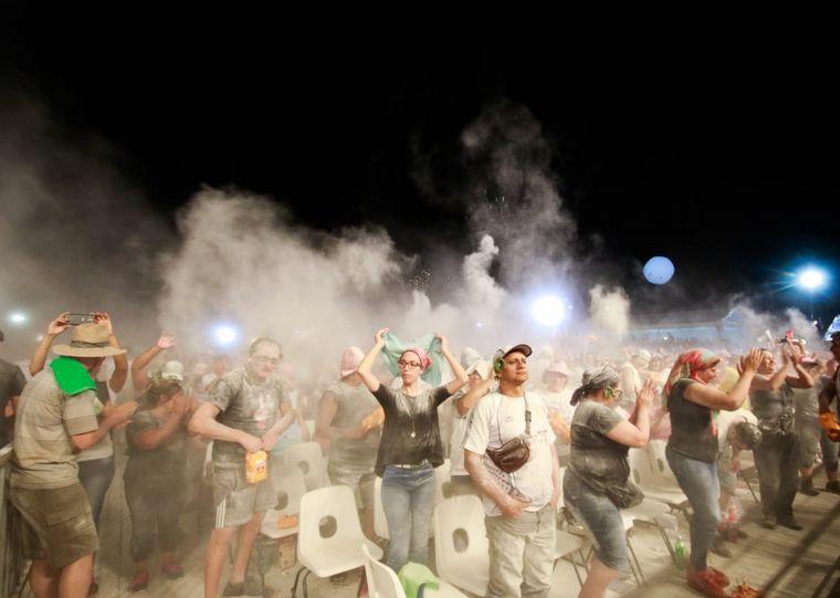 FOTO: Así se vivió la primera noche de albahaca y harina.