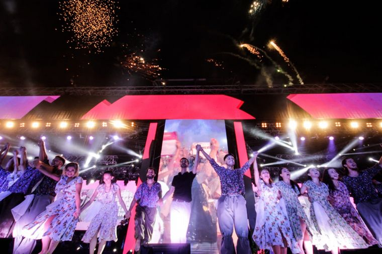 FOTO: Ballet en la apertura de la Fiesta de la Chaya