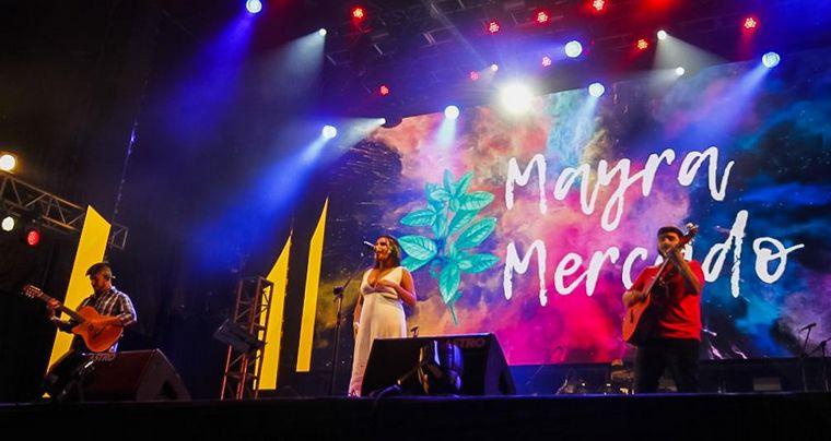 FOTO: Mayra Mercado en la Fiesta de la Chaya