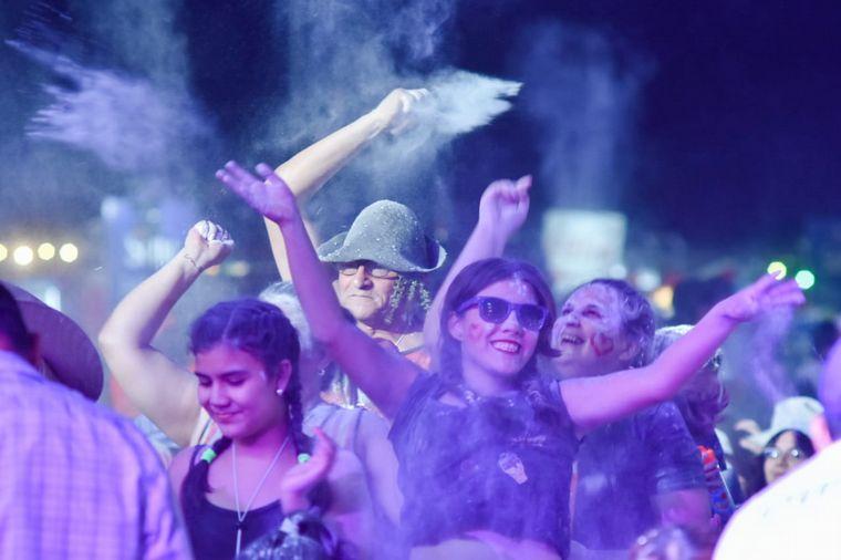 FOTO: Abel Pintos en la Fiesta Nacional de la Chaya