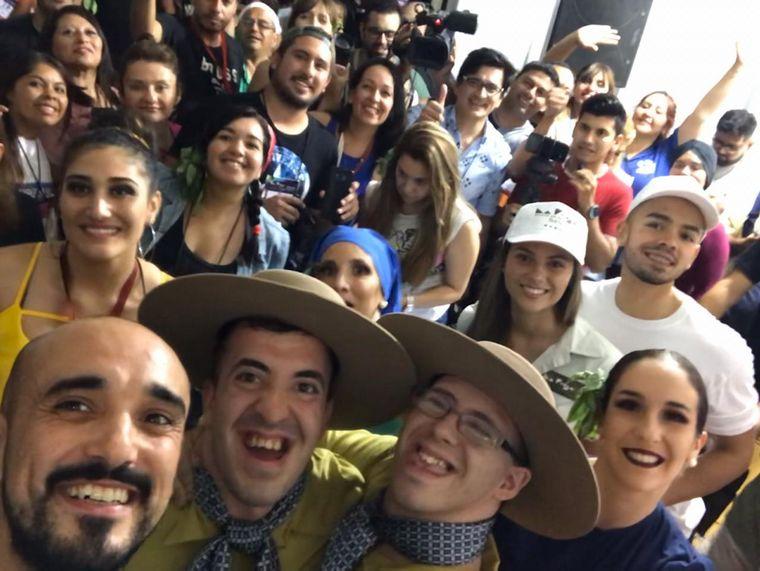 FOTO: Pica Juárez fue homenajeado en la Fiesta Nacional de la Chaya