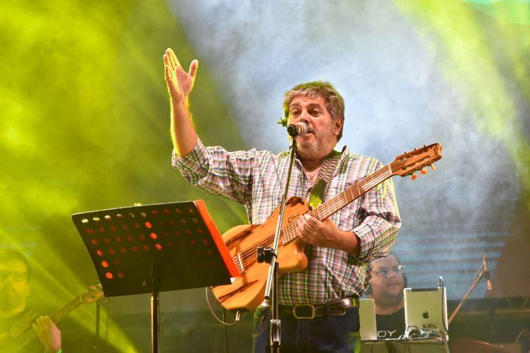 FOTO: Josho González en la Fiesta de la Chaya