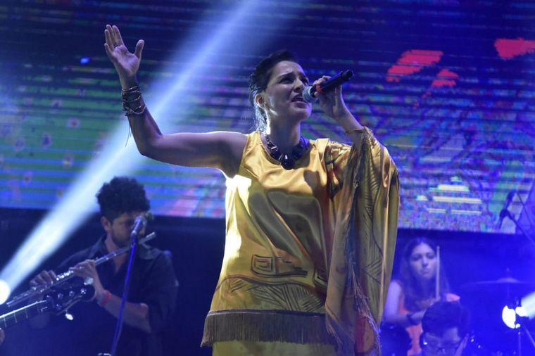 FOTO: Gloria de la Vega en la Fiesta de la Chaya.