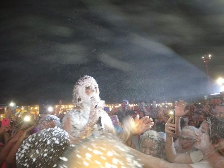 """FOTO: """"La Sole"""" en un espectáculo único a pura chaya."""