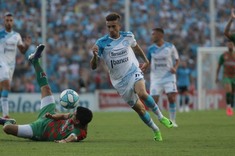 AUDIO: 1º Gol de Belgrano (Cristian Techera)