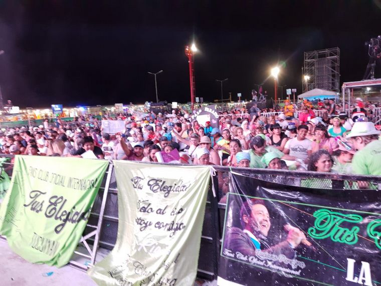 FOTO: Voces de Aimogasta en la Fiesta de la Chaya