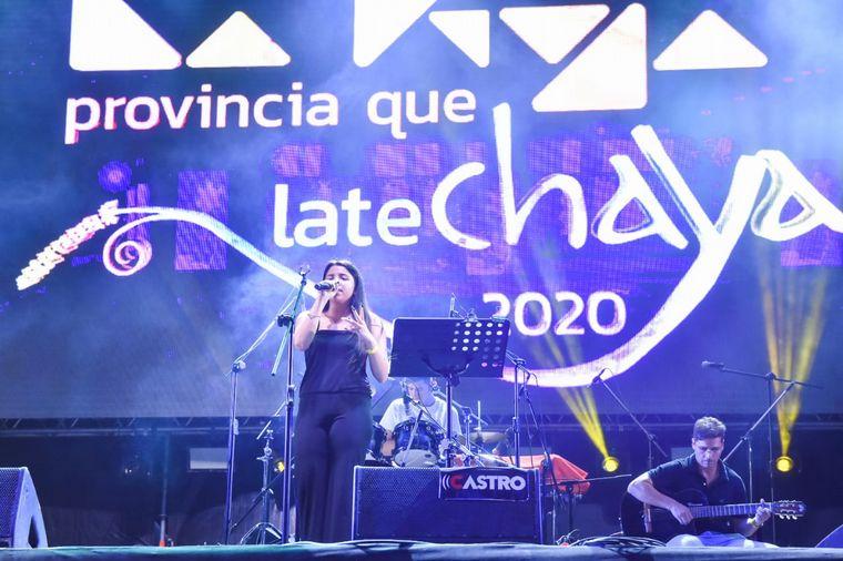 FOTO: Brenda Hernández en la Fiesta de la Chaya