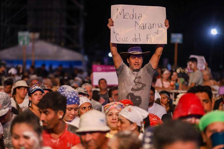 FOTO: Carlos Ferreyra en la Fiesta de la Chaya