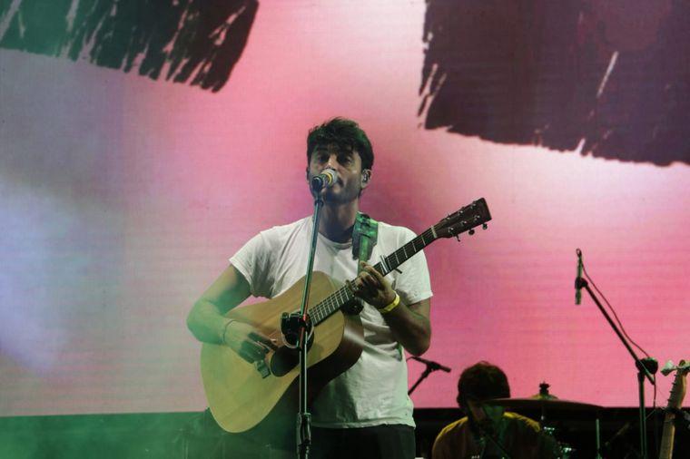 FOTO: Luciano Pereyra en la cuarta noche festivalera de La Rioja