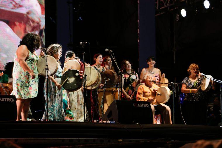 FOTO: Tona Páez en la Fiesta de la Chaya