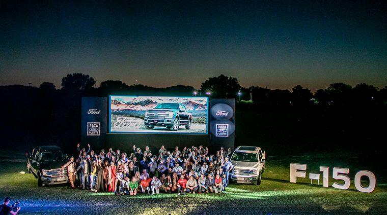 FOTO: Impactante, la Ford F150, también en Argentina.