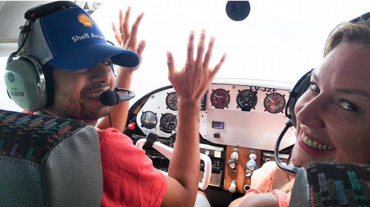 AUDIO: Paseo aéreo por las sierras de San Luis (por Celeste Benecchi)