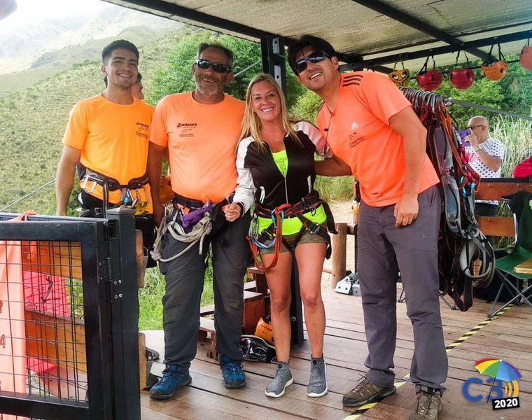 AUDIO: La experiencia de tirarse en tirolesa por los cerro de Merlo (Por Celeste Benecchi).